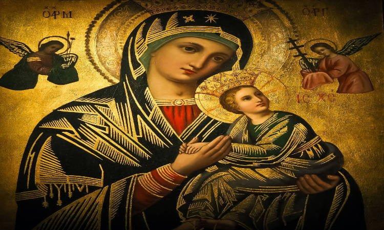 Προσευχή στην Παναγία