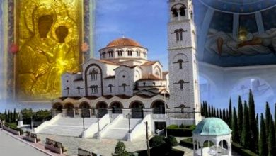 Θαύμα Παναγίας Φανερωμένης Μηχανιώνας Θεσσαλονίκης