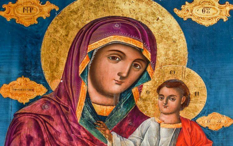 Εμφάνιση της Παναγίας σε αγωνιώσα μητέρα