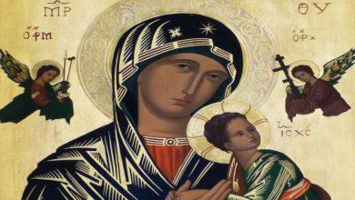 Να προσευχόμαστε στην Παναγία για παρηγοριά της ψυχής...