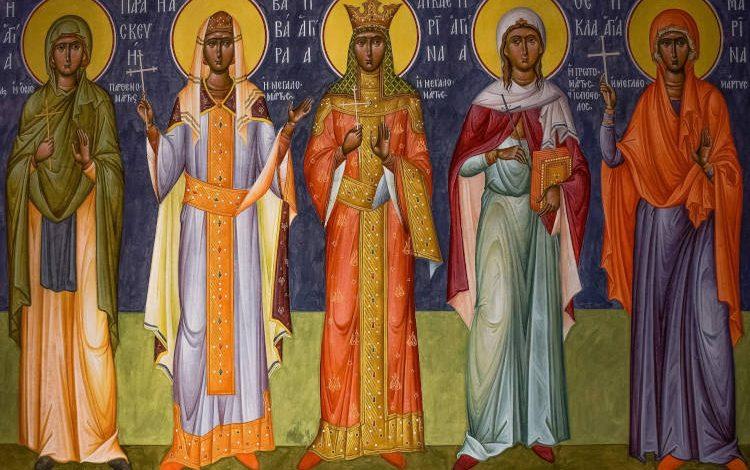 Διακονητές και Προστάτες Άγιοι